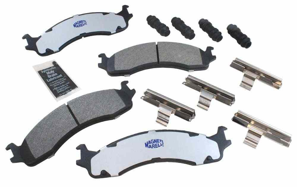 MAGNETI MARELLI OFFERED BY MOPAR - Metallic Disc Brake Pad (Front) - MGM 1AMV100655