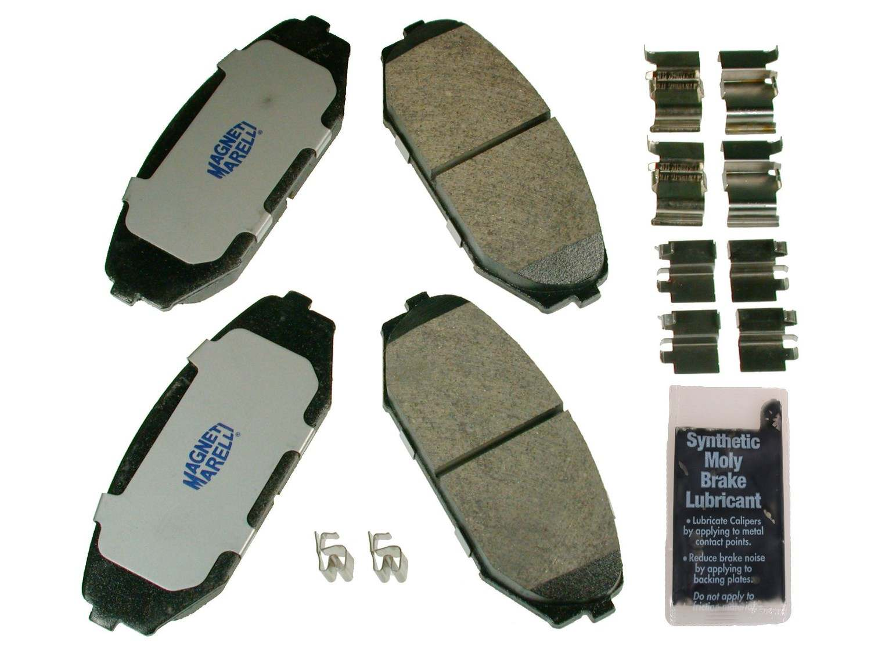 MAGNETI MARELLI OFFERED BY MOPAR - Metallic Disc Brake Pad - MGM 1AMV100793