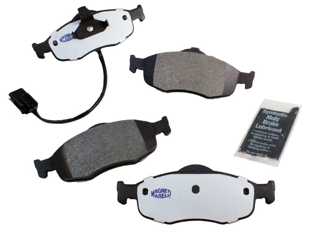 MAGNETI MARELLI OFFERED BY MOPAR - Metallic Disc Brake Pad (Front) - MGM 1AMV100801