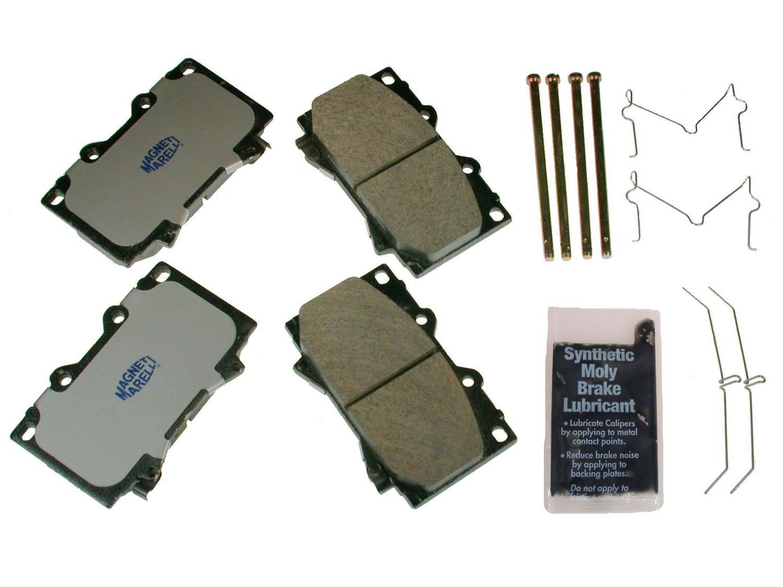 MAGNETI MARELLI OFFERED BY MOPAR - Metallic Disc Brake Pad - MGM 1AMV100812