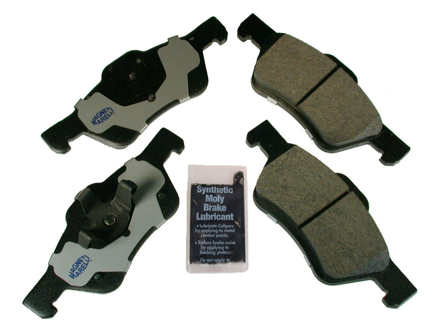 MAGNETI MARELLI OFFERED BY MOPAR - Metallic Disc Brake Pad (Front) - MGM 1AMV101047