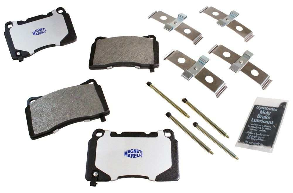 MAGNETI MARELLI OFFERED BY MOPAR - Metallic Disc Brake Pad (Front) - MGM 1AMV101050