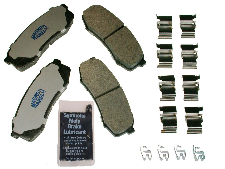 MAGNETI MARELLI OFFERED BY MOPAR - Metallic Disc Brake Pad - MGM 1AMV200606