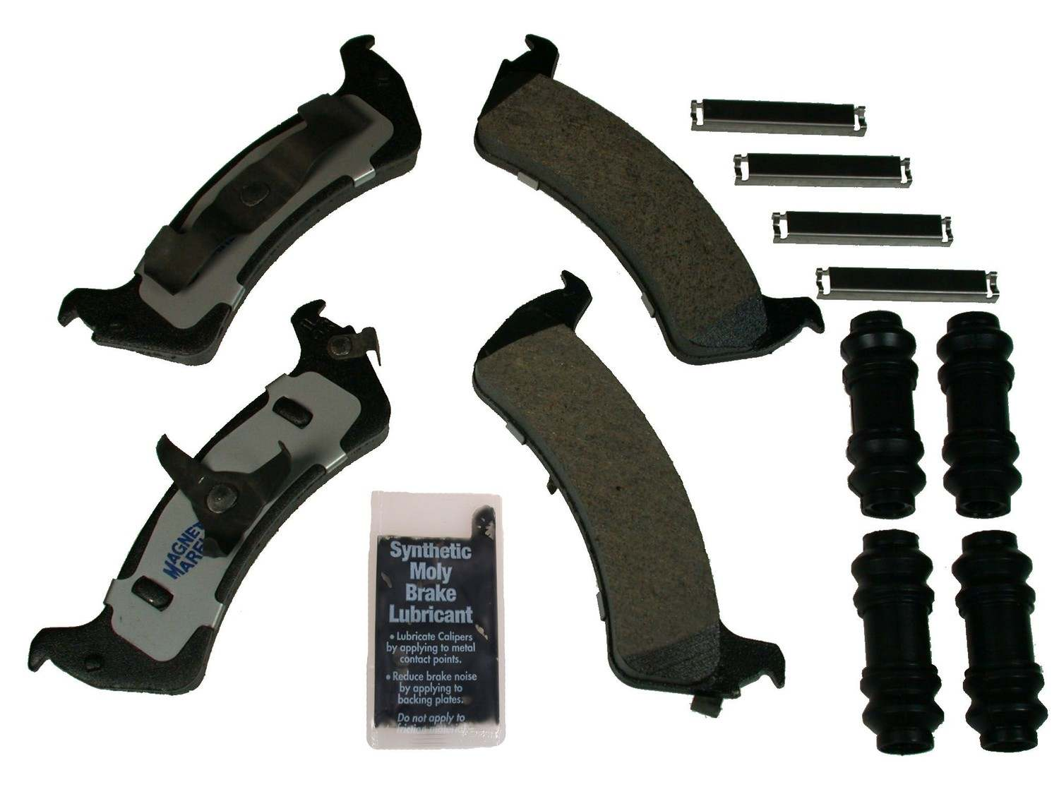 MAGNETI MARELLI OFFERED BY MOPAR - Metallic Disc Brake Pad (Rear) - MGM 1AMV200667
