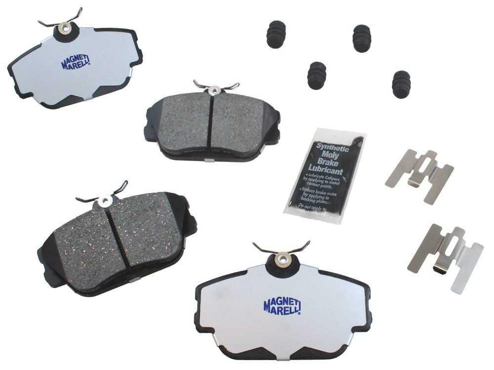 MAGNETI MARELLI OFFERED BY MOPAR - Ceramic Disc Brake Pad - MGM 1AMV300598