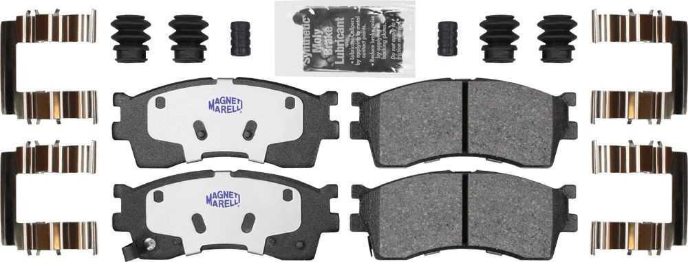 MAGNETI MARELLI OFFERED BY MOPAR - Ceramic Disc Brake Pad - MGM 1AMV300889