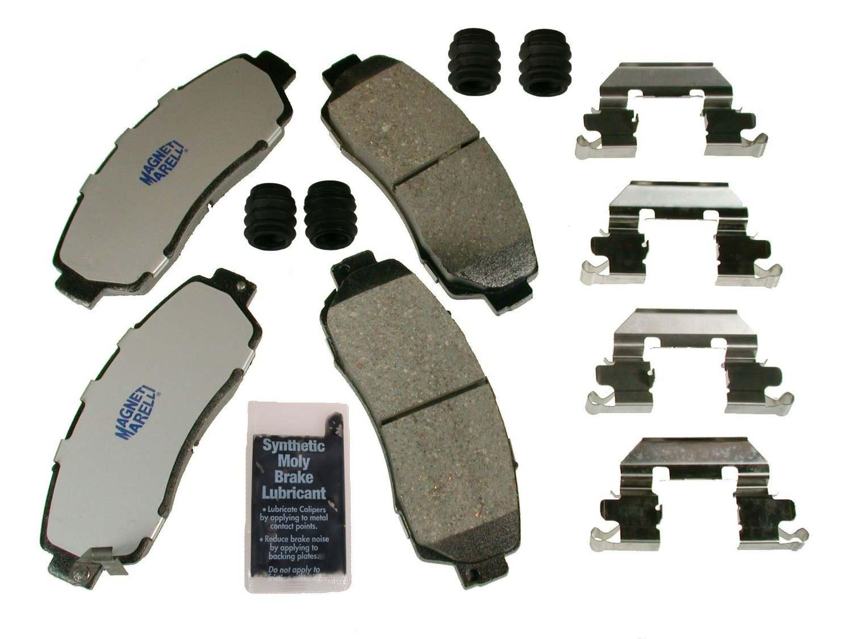 MAGNETI MARELLI OFFERED BY MOPAR - Ceramic Disc Brake Pad - MGM 1AMV301089