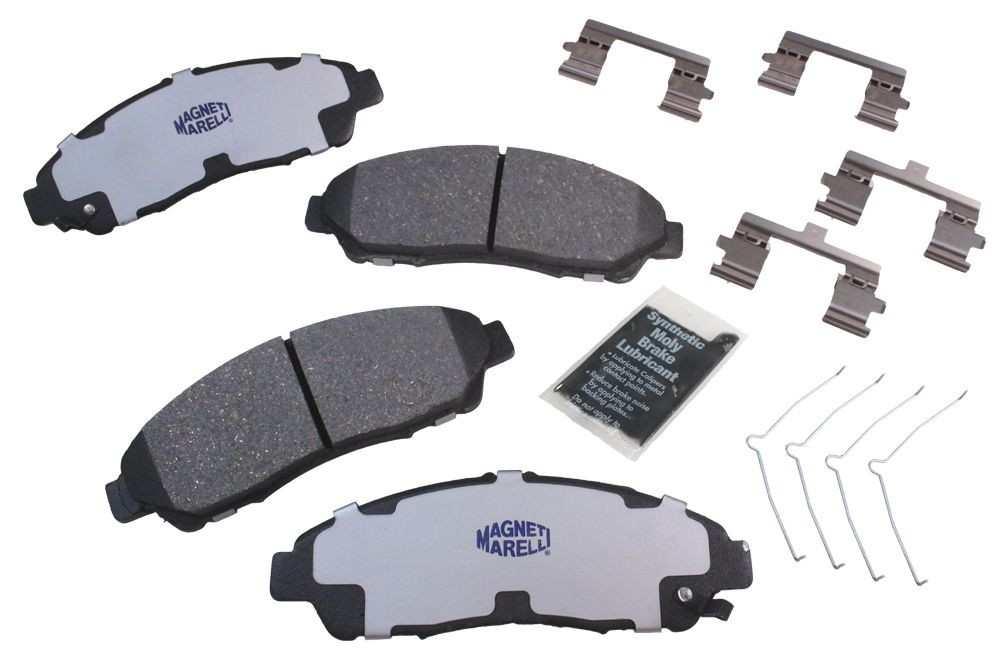 MAGNETI MARELLI OFFERED BY MOPAR - Ceramic Disc Brake Pad - MGM 1AMV301378