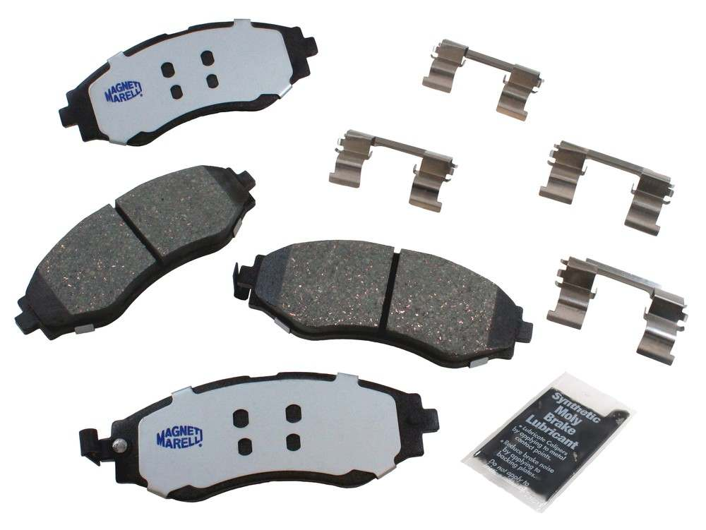 MAGNETI MARELLI OFFERED BY MOPAR - Ceramic Disc Brake Pad - MGM 1AMV400797