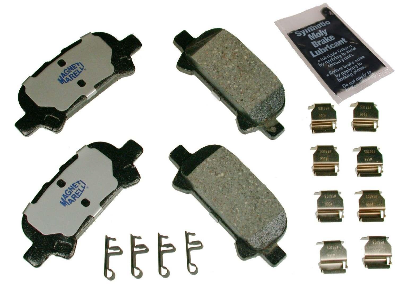 MAGNETI MARELLI OFFERED BY MOPAR - Ceramic Disc Brake Pad - MGM 1AMV400828