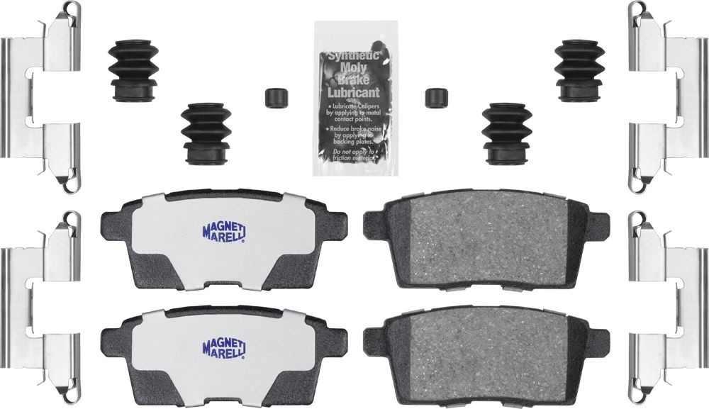 MAGNETI MARELLI OFFERED BY MOPAR - Ceramic Disc Brake Pad - MGM 1AMV41259A