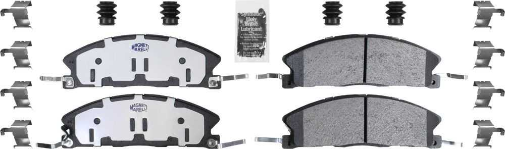 MAGNETI MARELLI OFFERED BY MOPAR - Heavy Duty Disc Brake Pad (Front) - MGM 1AMVF11611