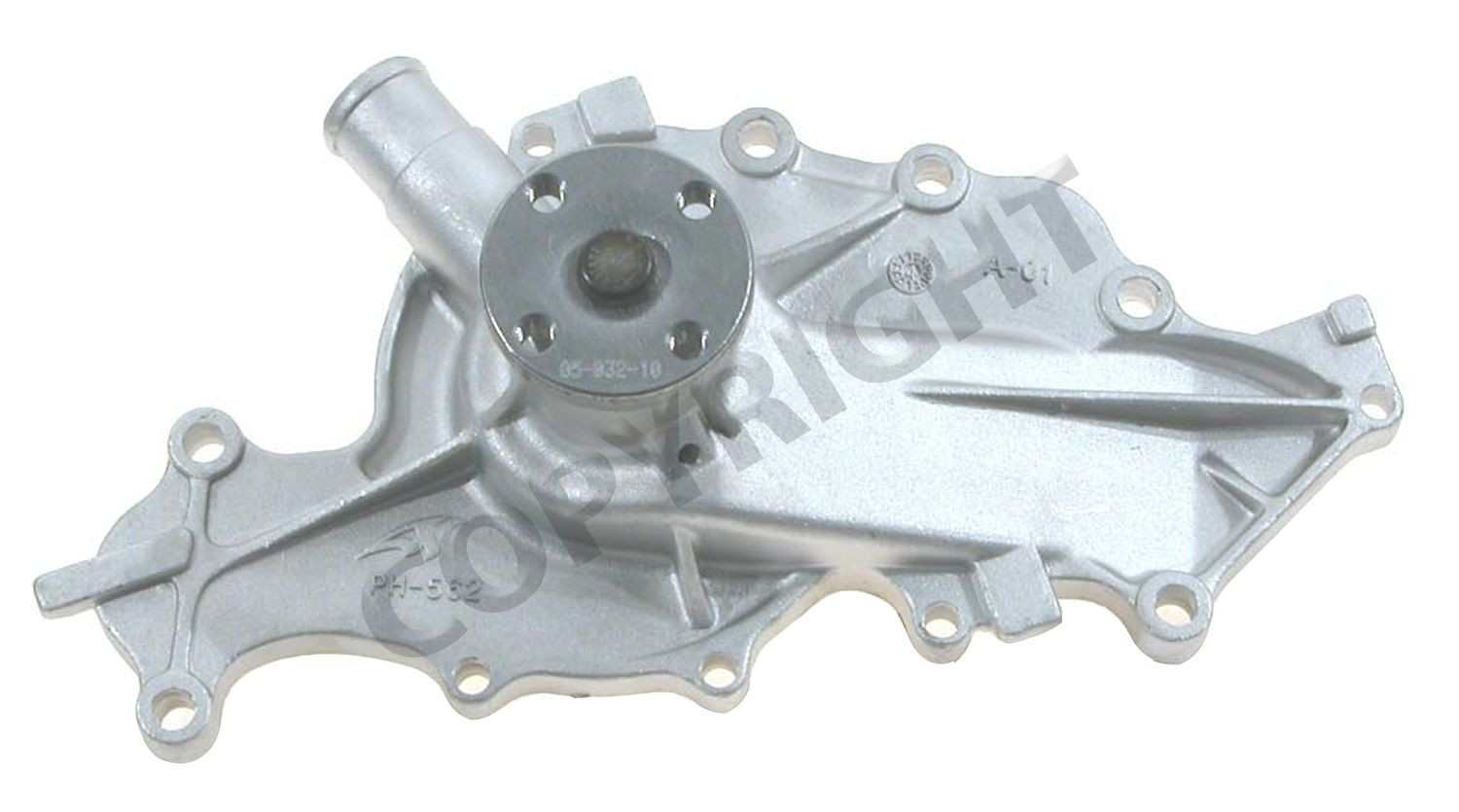 MAGNETI MARELLI OFFERED BY MOPAR - Engine Water Pump - MGM 1AMWP00001