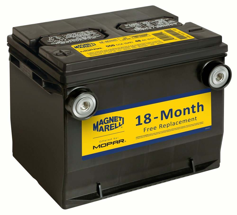 MAGNETI MARELLI OFFERED BY MOPAR - Vehicle Battery - MGM 2AM075550A