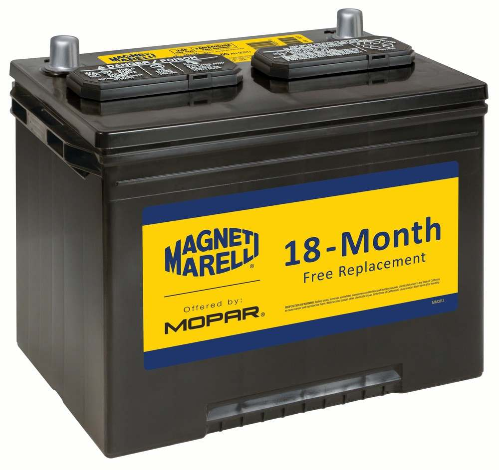 MAGNETI MARELLI OFFERED BY MOPAR - Vehicle Battery - MGM 2AM240530A