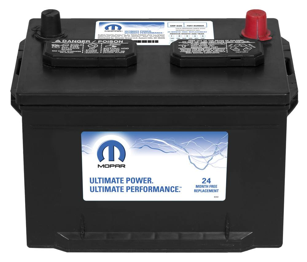 MAGNETI MARELLI OFFERED BY MOPAR - Vehicle Battery - MGM BB058550AA