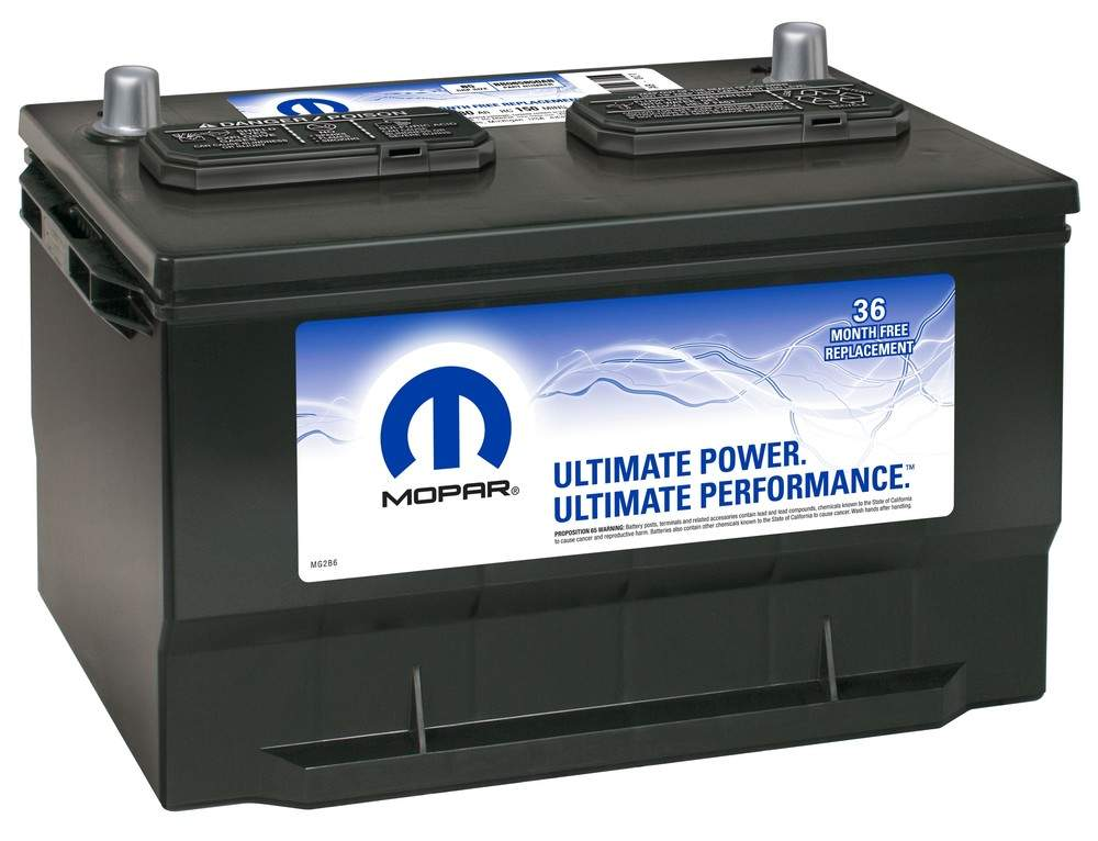 MAGNETI MARELLI OFFERED BY MOPAR - Vehicle Battery - MGM BB065850AB