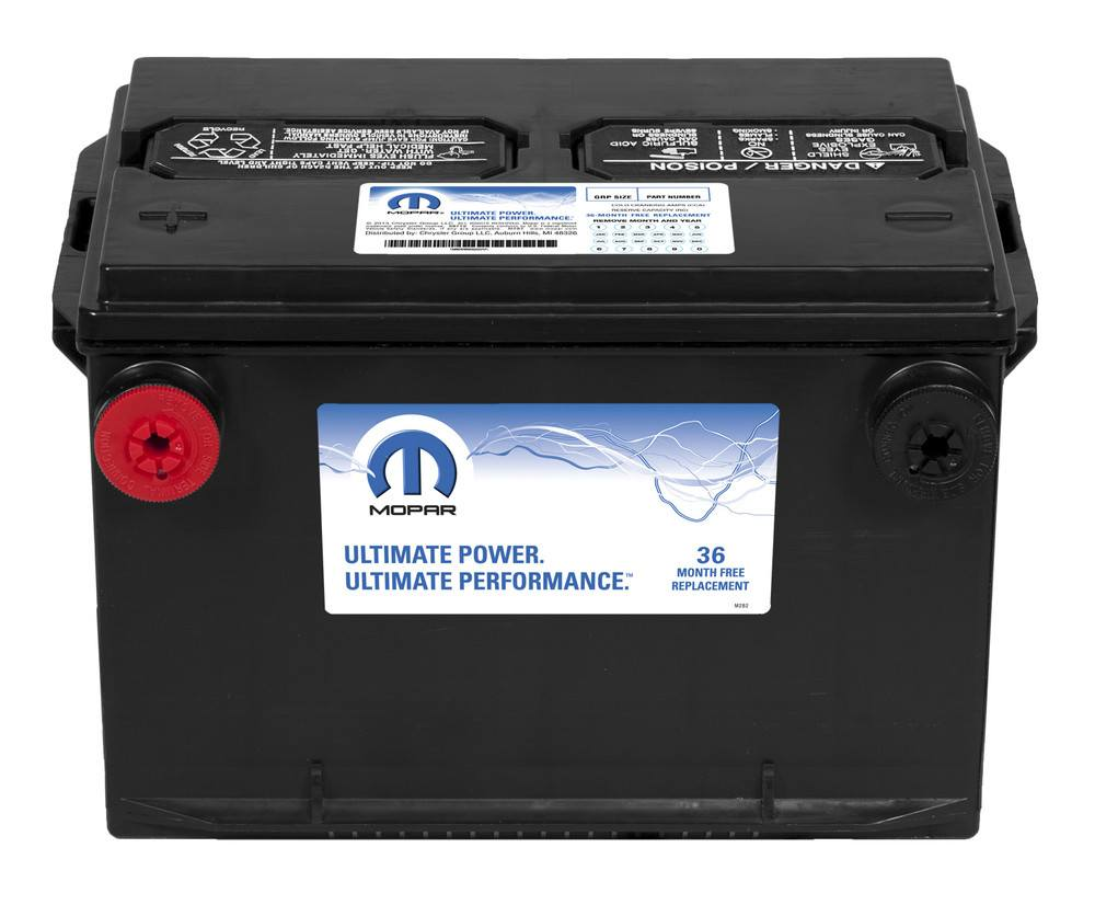 MAGNETI MARELLI OFFERED BY MOPAR - Battery - MGM BB078800AA