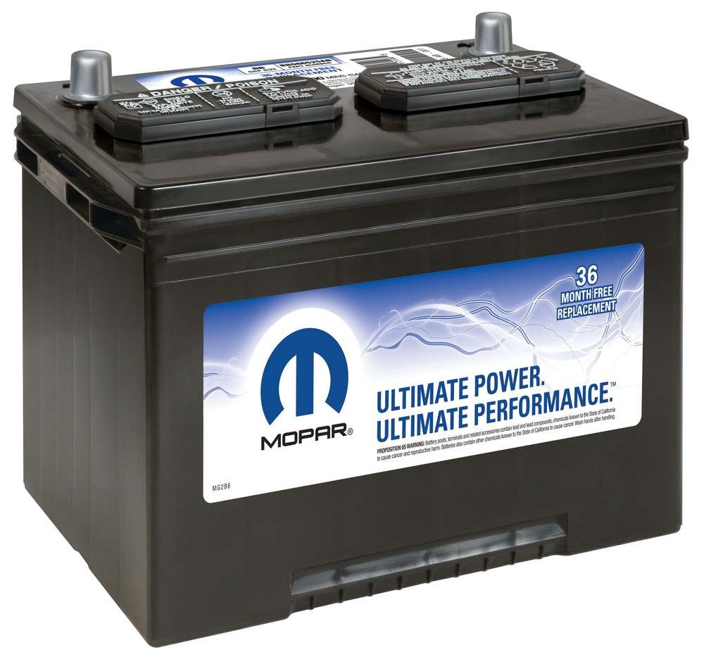 MAGNETI MARELLI OFFERED BY MOPAR - Vehicle Battery - MGM BB086525AB