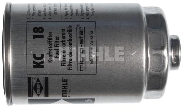 MAHLE ORIGINAL - Fuel Filter (In-Line) - MHL KC 18