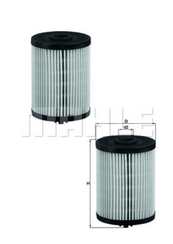 MAHLE ORIGINAL - Fuel Filter - MHL KX 200D/S