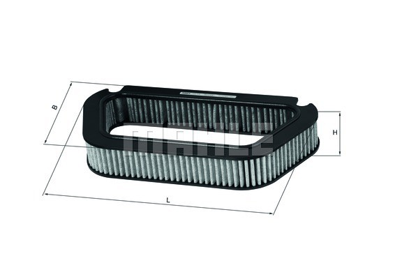 MAHLE ORIGINAL - Cabin Air Filter - MHL LAK 176
