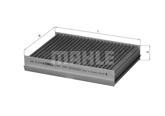 MAHLE ORIGINAL - Cabin Air Filter - MHL LAK 250