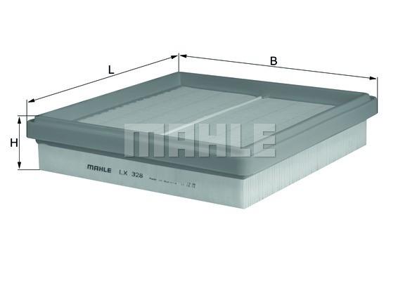 MAHLE ORIGINAL - Air Filter - MHL LX 328