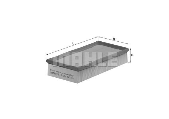 MAHLE ORIGINAL - Air Filter - MHL LX 494