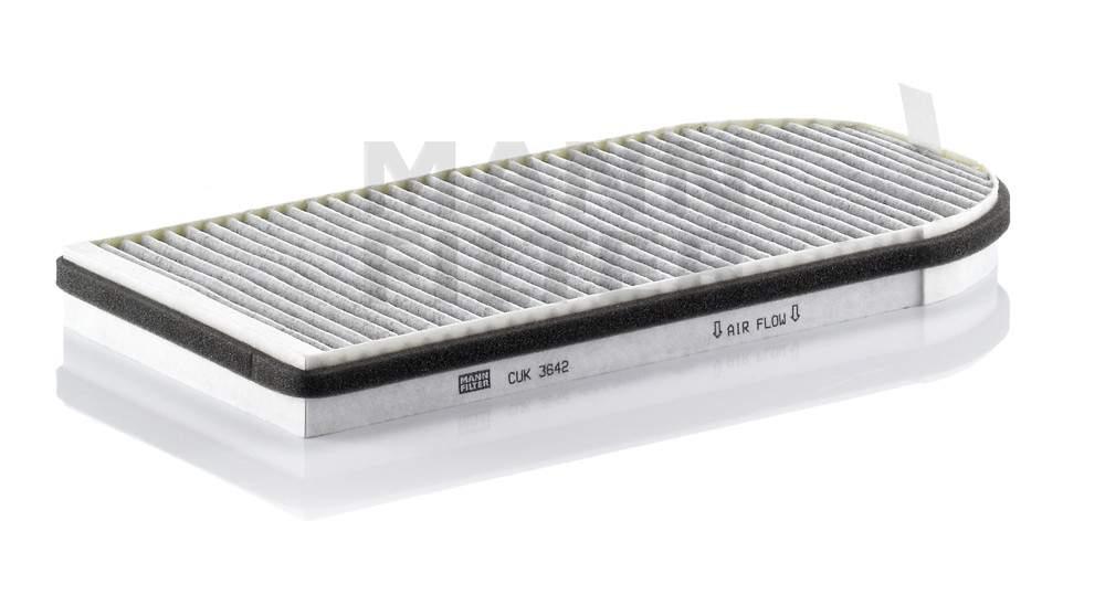 MANN-FILTER - Cabin Air Filter - MNH CUK 3642-2