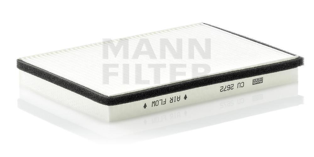 MANN-FILTER - Cabin Air Filter - MNH CU 2672