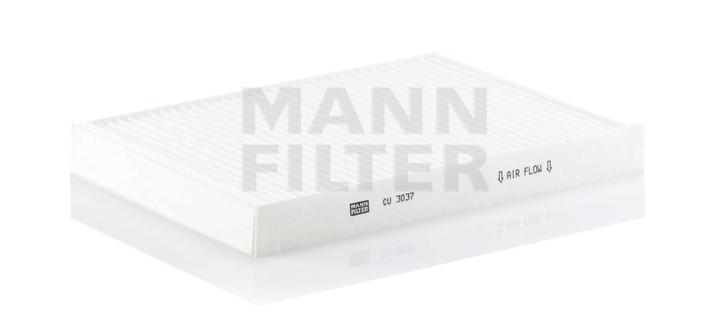 MANN-FILTER - Cabin Air Filter - MNH CU 3037