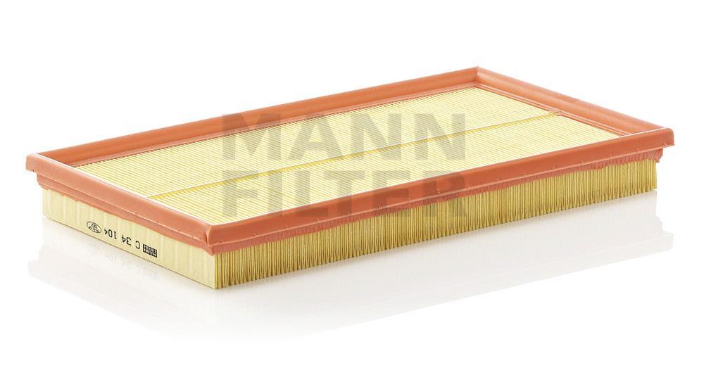 MANN-FILTER - Air Filter - MNH C 34 104