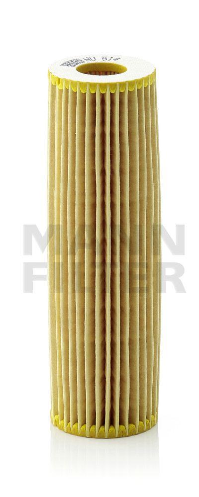 MANN-FILTER - Engine Oil Filter - MNH HU 514 X