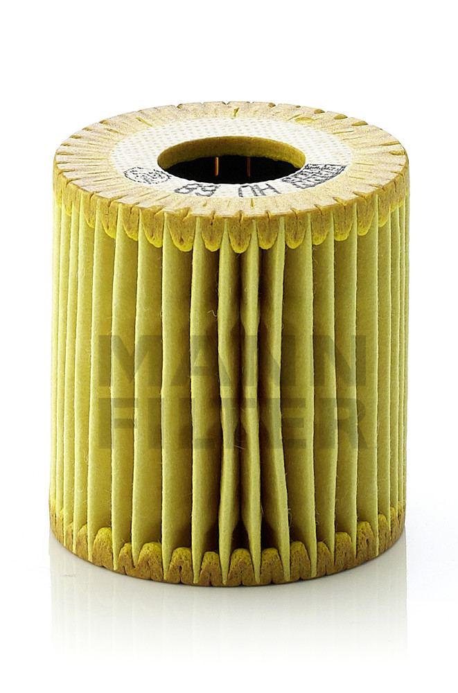 MANN-FILTER - Engine Oil Filter - MNH HU 68 X