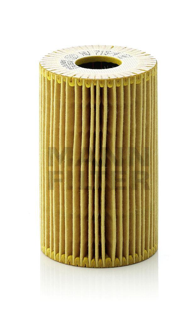 MANN-FILTER - Engine Oil Filter - MNH HU 715/4 X