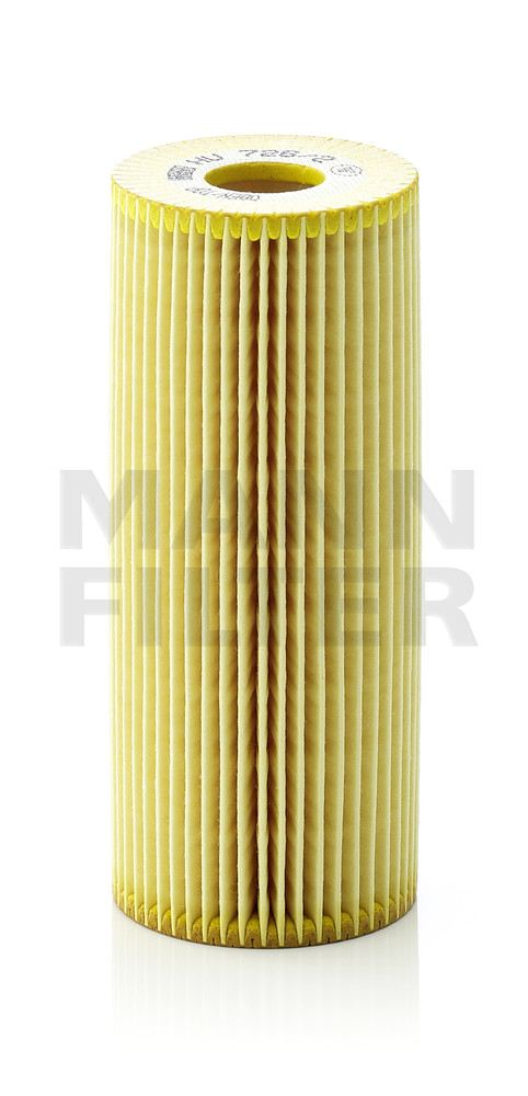 MANN-FILTER - Engine Oil Filter - MNH HU 726/2 X
