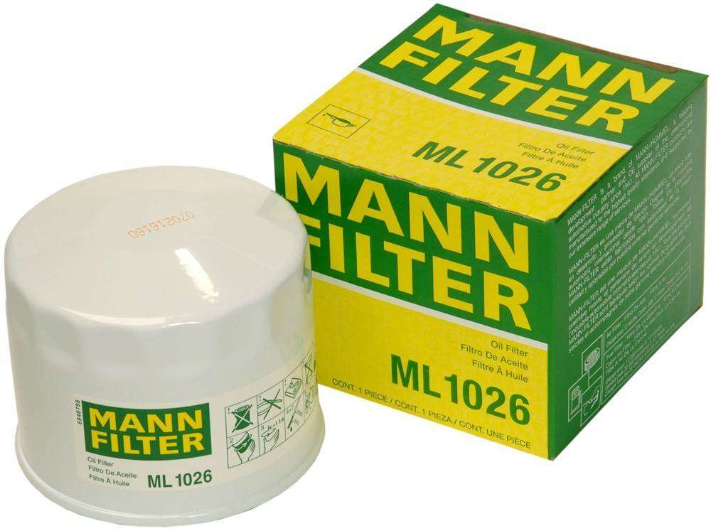 MANN-FILTER - Engine Oil Filter - MNH ML 1026