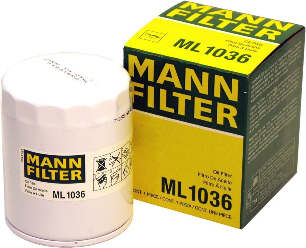 MANN-FILTER - Oil Filter - MNH ML 1036