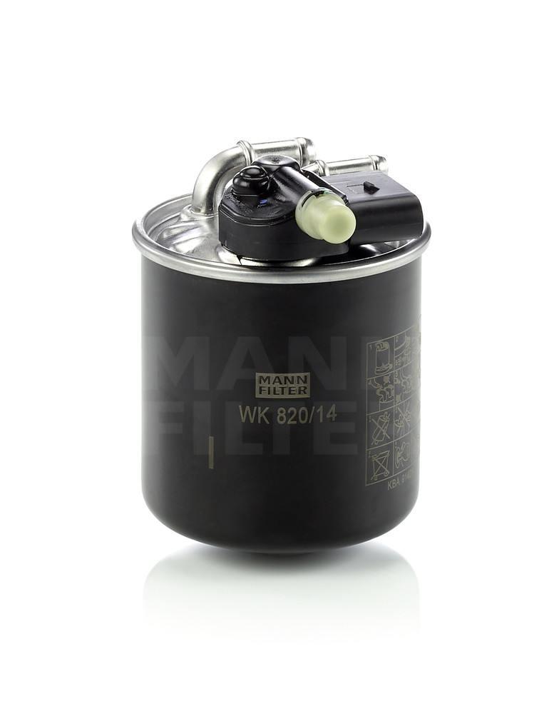 MANN-FILTER - Fuel Filter - MNH WK 820/14