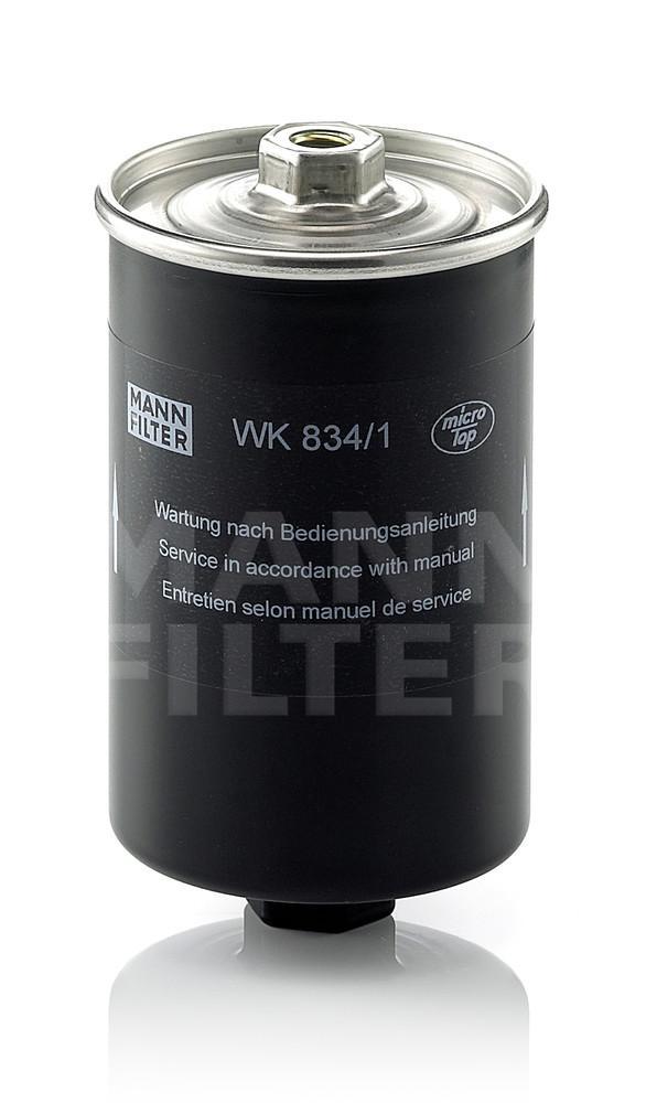 MANN-FILTER - Fuel Filter - MNH WK 834/1
