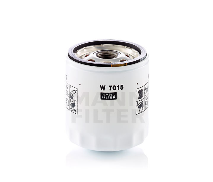 MANN-FILTER - Engine Oil Filter - MNH W 7015
