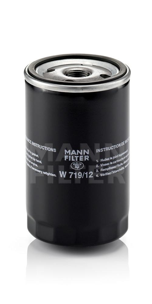 MANN-FILTER - Engine Oil Filter - MNH W 719/12
