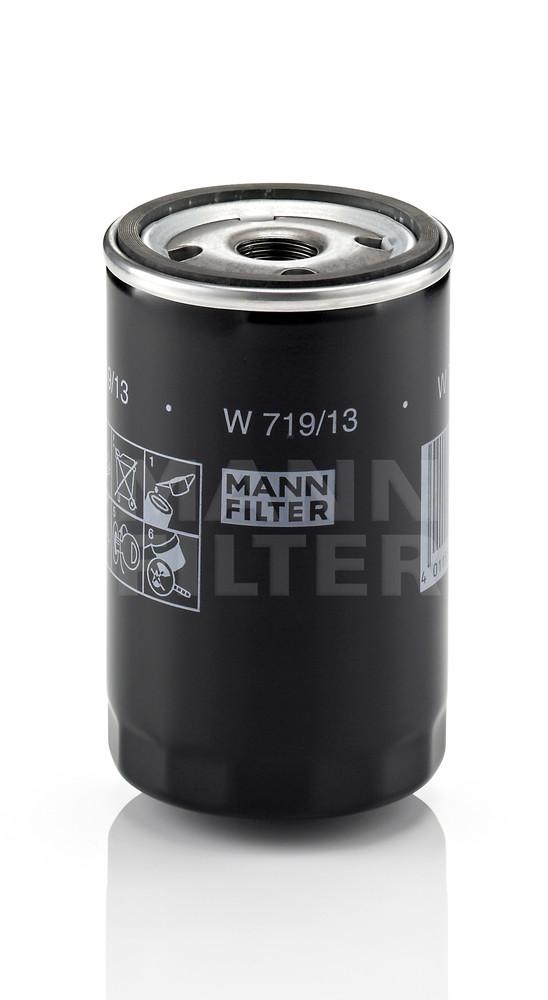 MANN-FILTER - Engine Oil Filter - MNH W 719/13