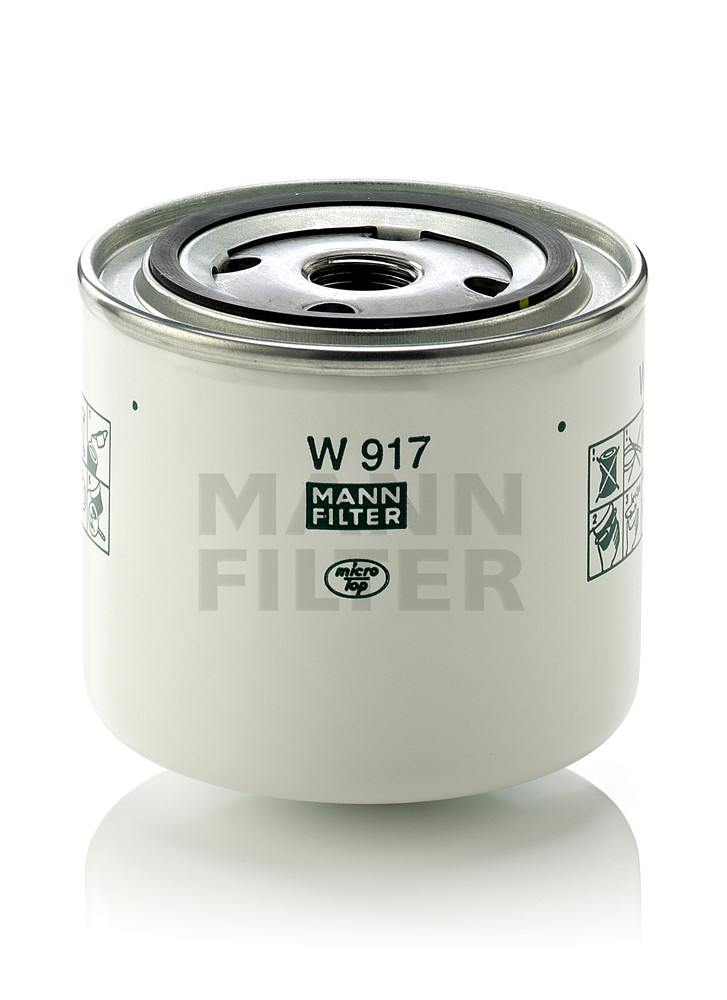 MANN-FILTER - Engine Oil Filter - MNH W 917