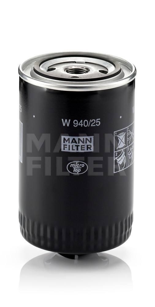 MANN-FILTER - Engine Oil Filter - MNH W 940/25