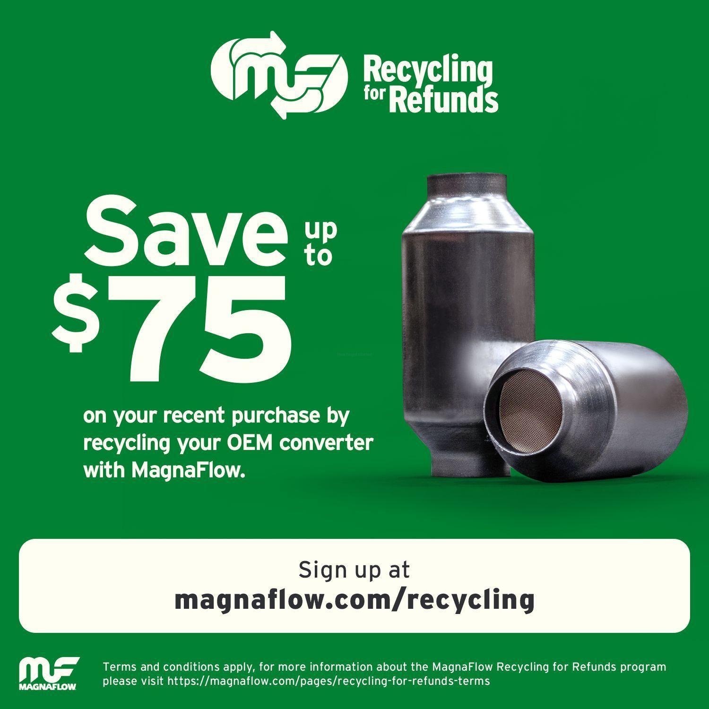 MAGNAFLOW NEW YORK CONVERTER - 2.50in. Universal California OBDII Catalytic Converter (Front Left) - MNY 447176
