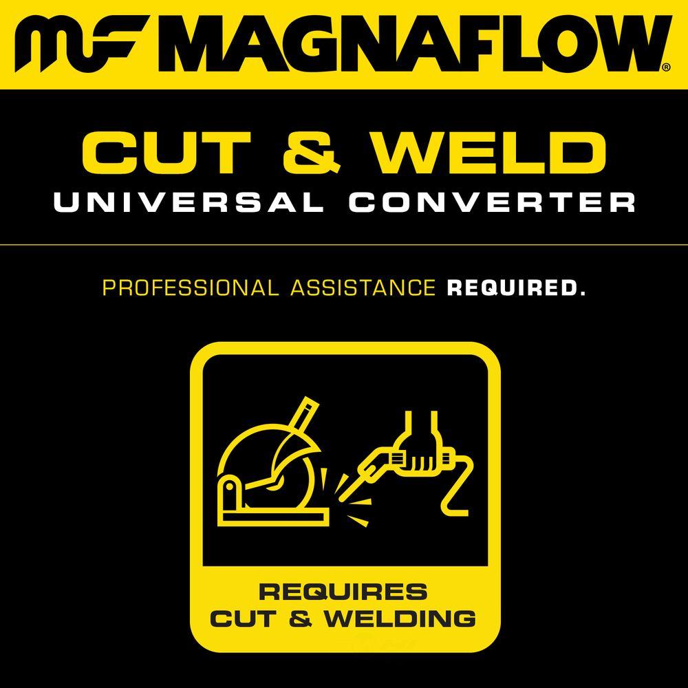 MAGNAFLOW NEW YORK CONVERTER - 2.25in. Universal California OBDII Catalytic Converter (Front) - MNY 551005
