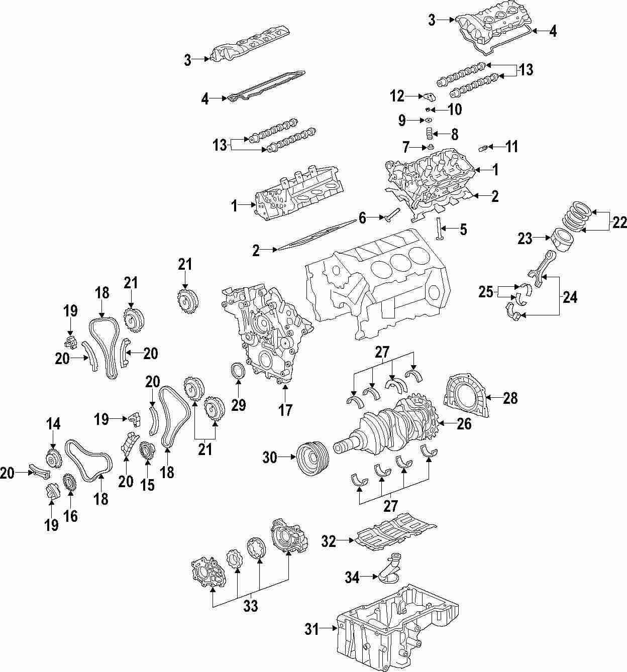 2011 Buick Enclave Engine Diagram Wiring Schematic 2019 Genuine Asm 12654375 Weir Parts Rh Weirparts Com