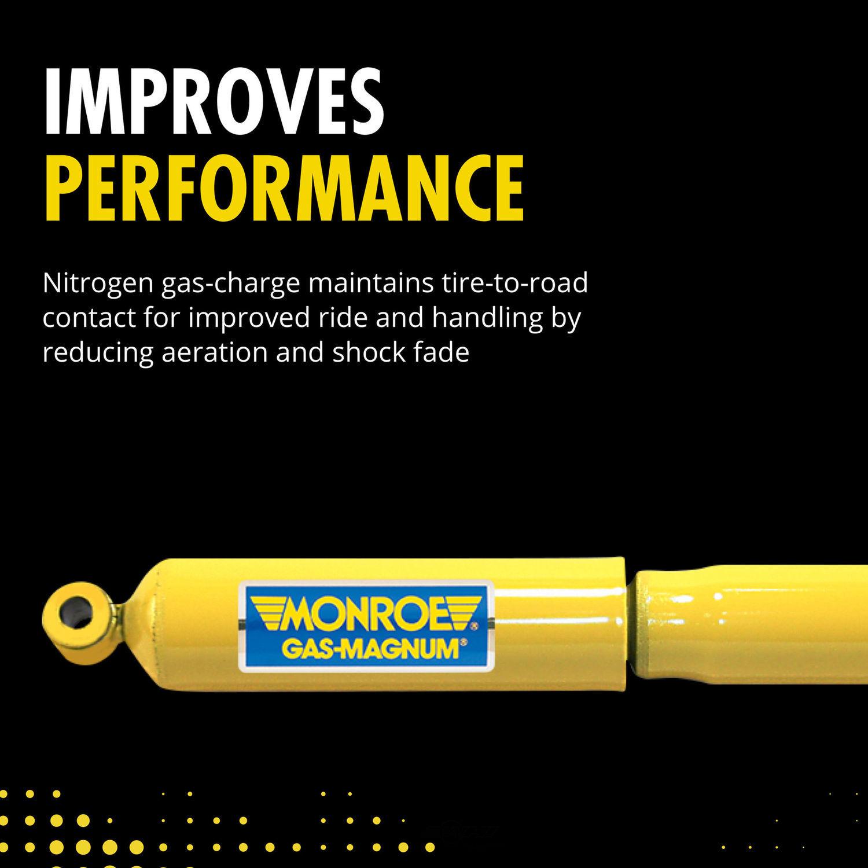 MONROE SHOCKS/STRUTS - Gas-Magnum Shock Absorber - MOE 34803
